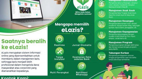 Sistem Informasi Laziswaf Online Berbasis Web (Zakat, Infaq, Sedekah, Wakaf) WA 0857-1250-5000